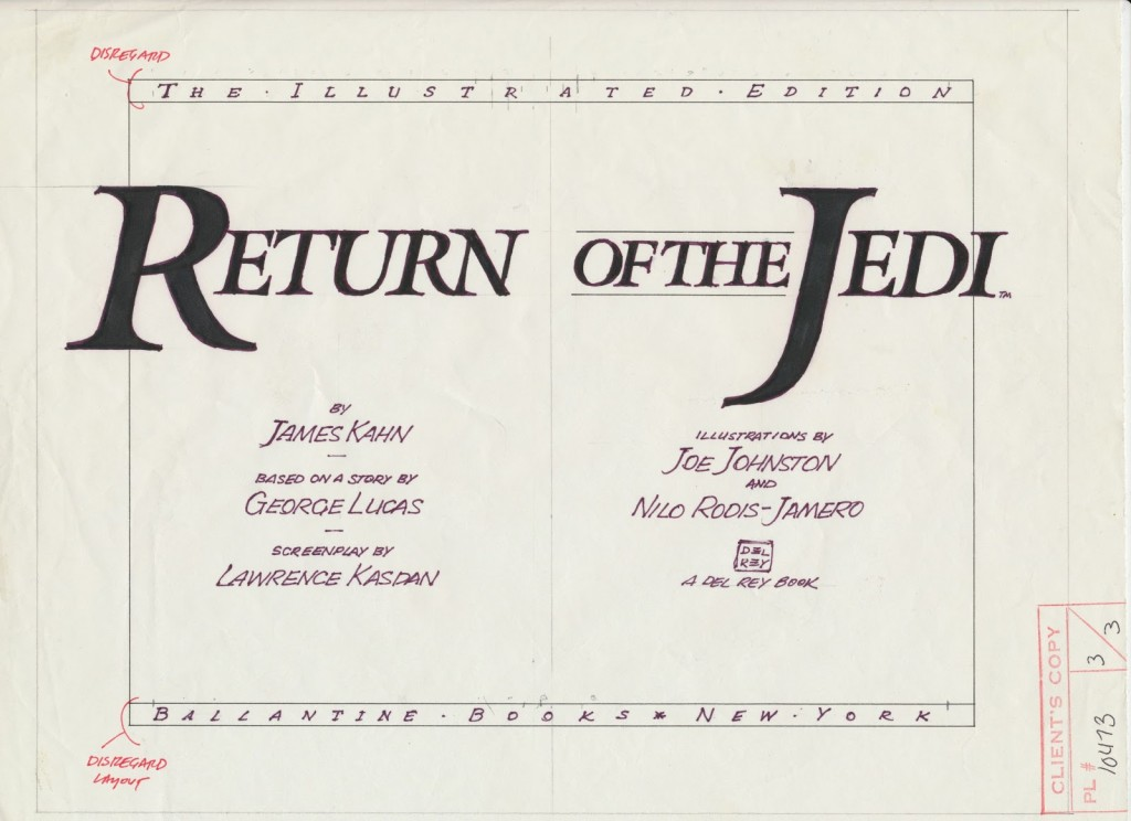 Return of the Jedi Novel 03