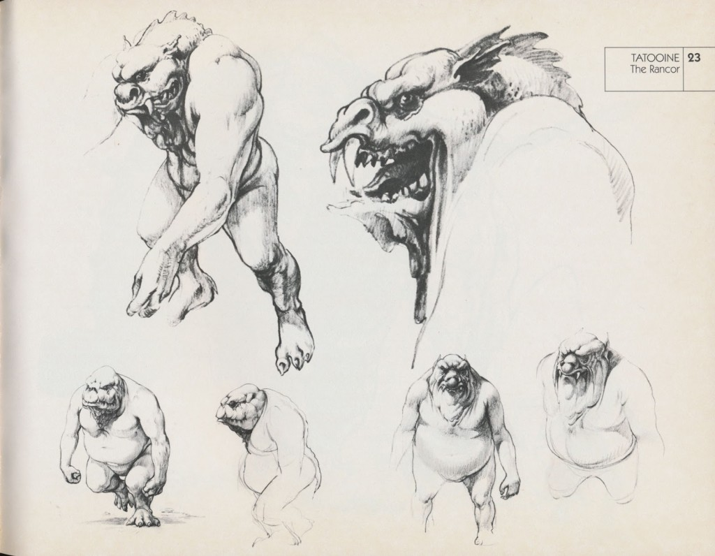 Return of the Jedi Sketchbook 12