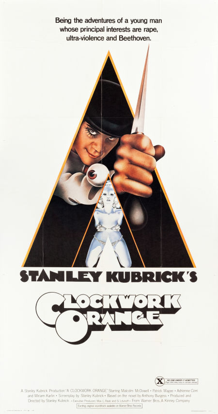 movie poster clockwork orange