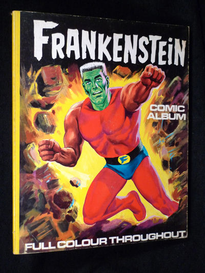 frankenstein comic