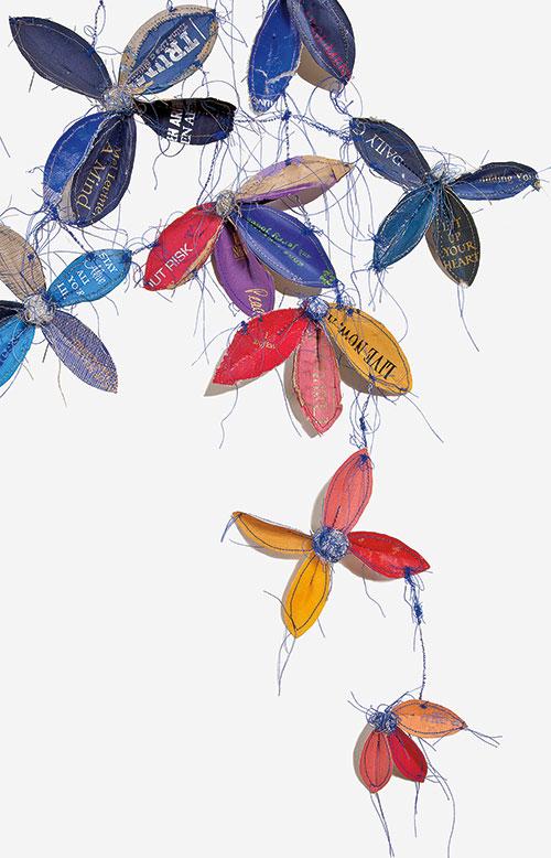 artmadefrombooks Lisa Kokin, How to Be, 2010