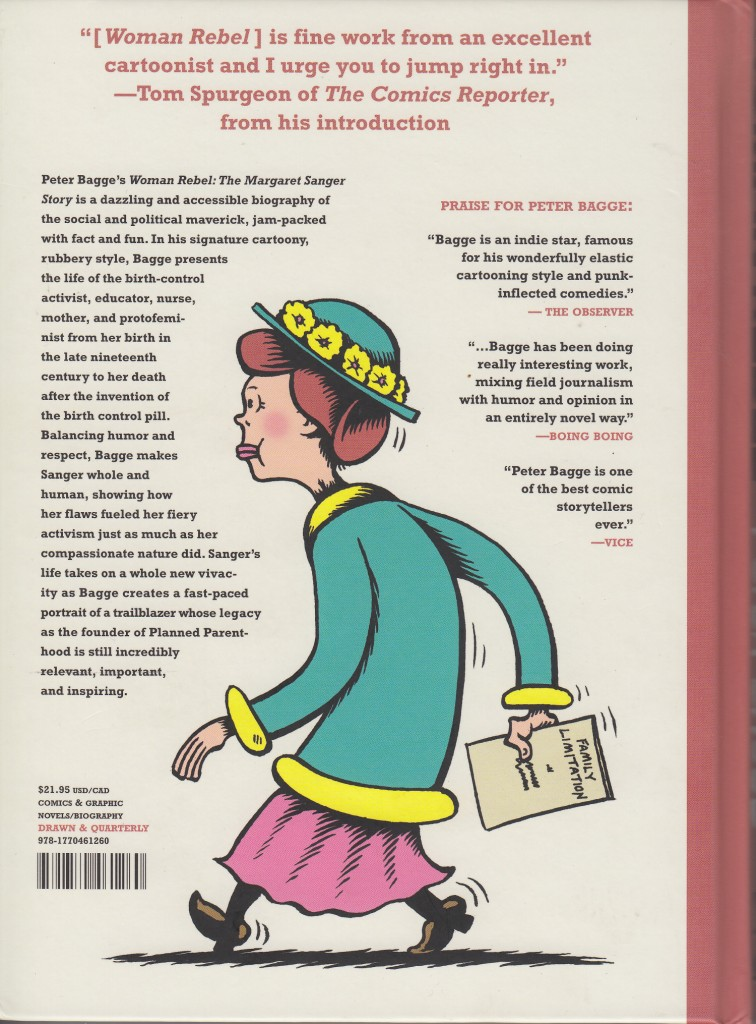 woman rebel rear cover