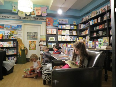 take a child to bookstore day