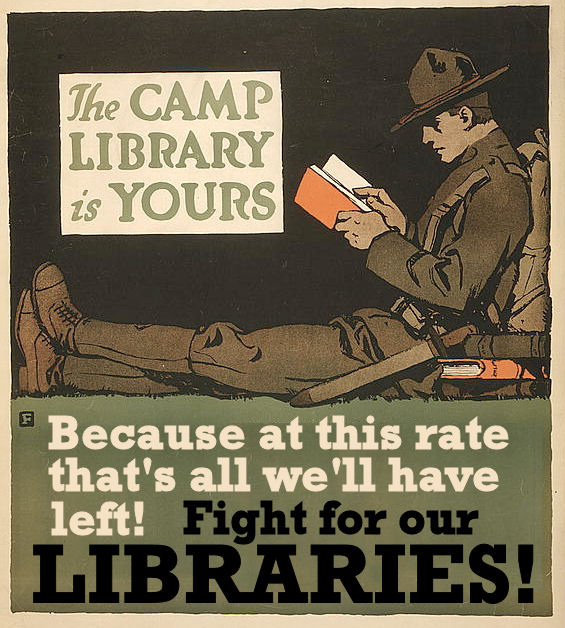 library posters phil bradley camp