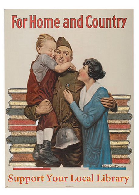 library posters phil bradley home and country