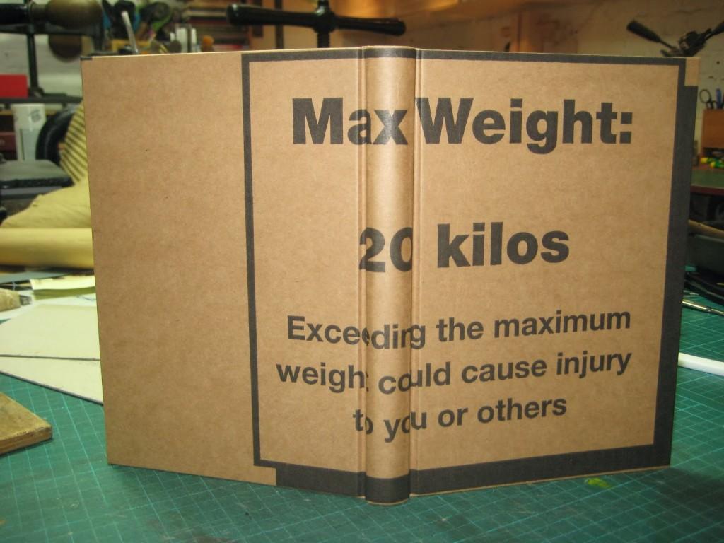 cardboard bound 1