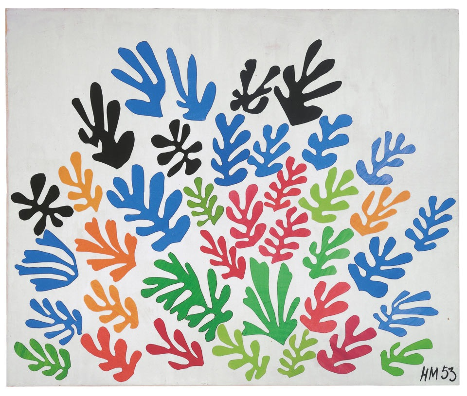 matisse cut outs thesheaf1953
