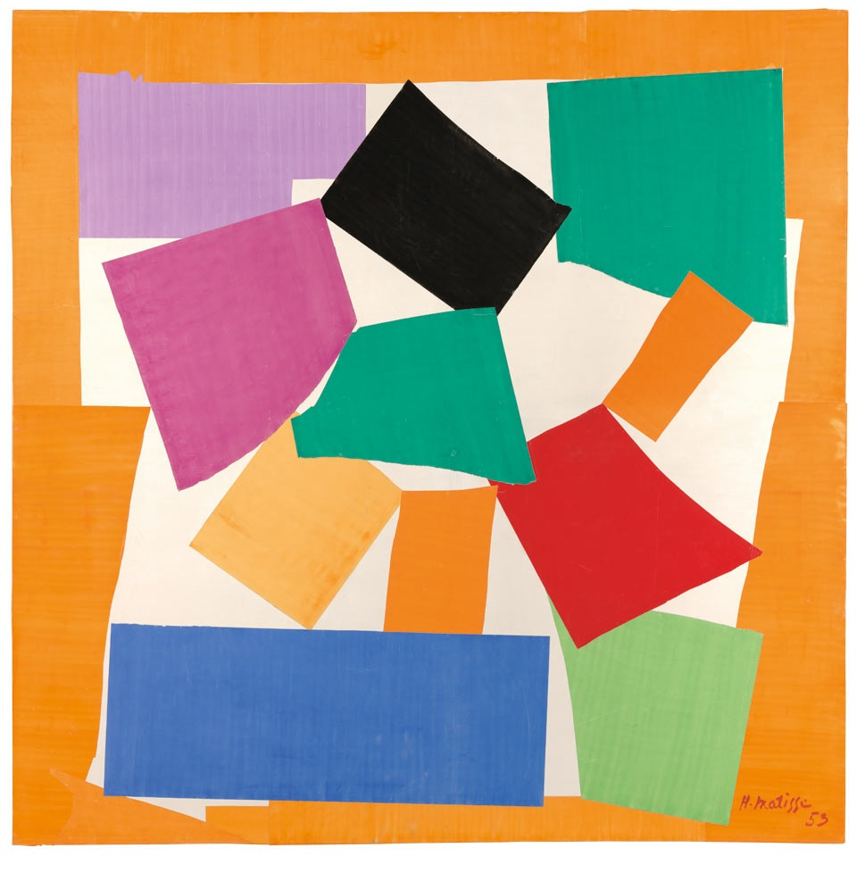matisse cut outs thesnail1953