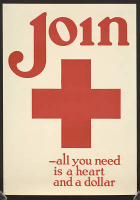 WWI poster all you need is a heart