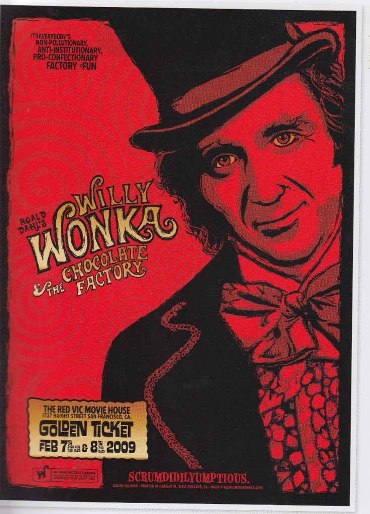 alternative movie posters wonka
