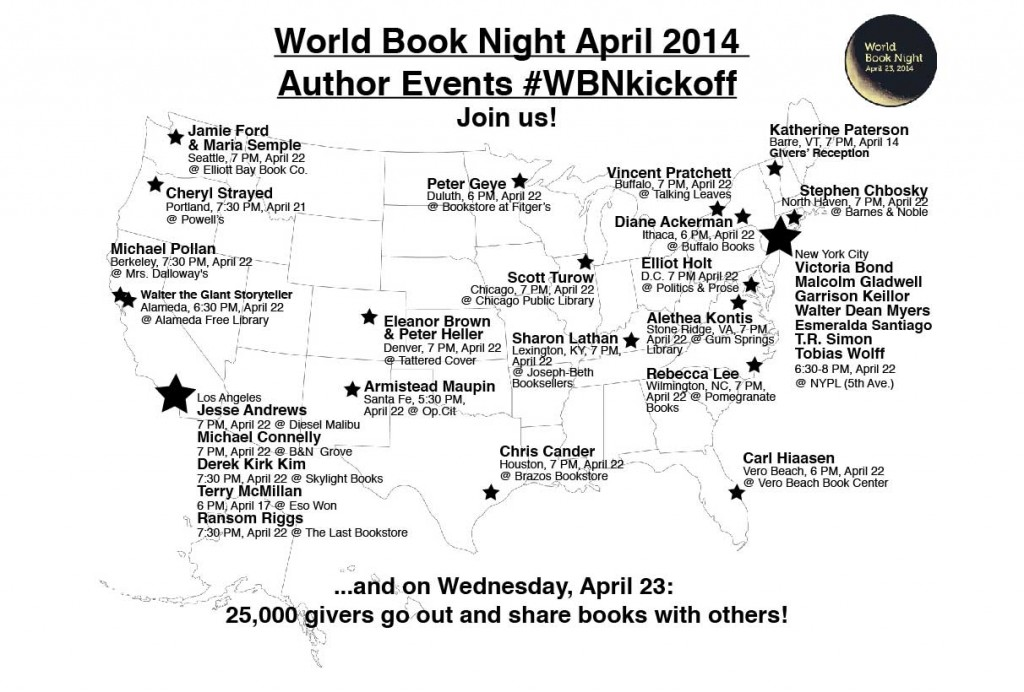 world book night author map