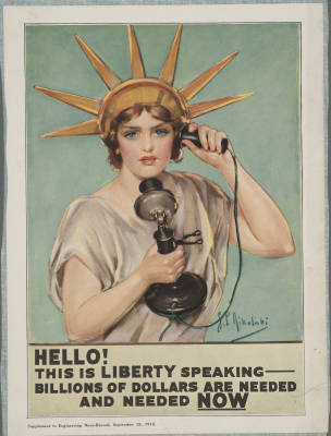 ww1 liberty speaking