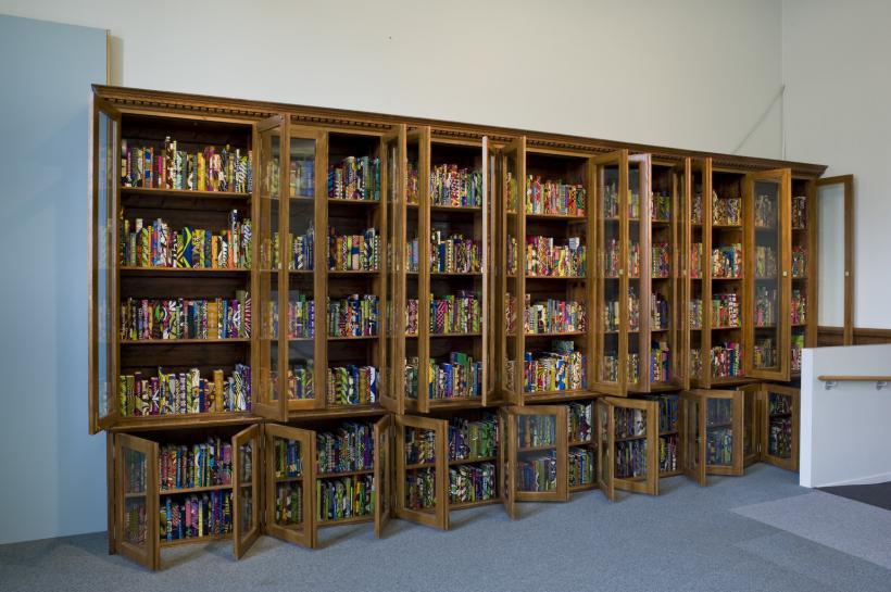 Yinka Shonibare MBE british library 3