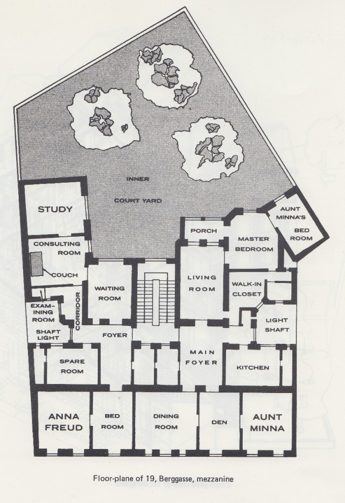freuds house floor plan