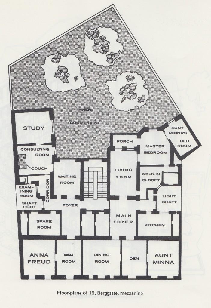 freuds house floor plan